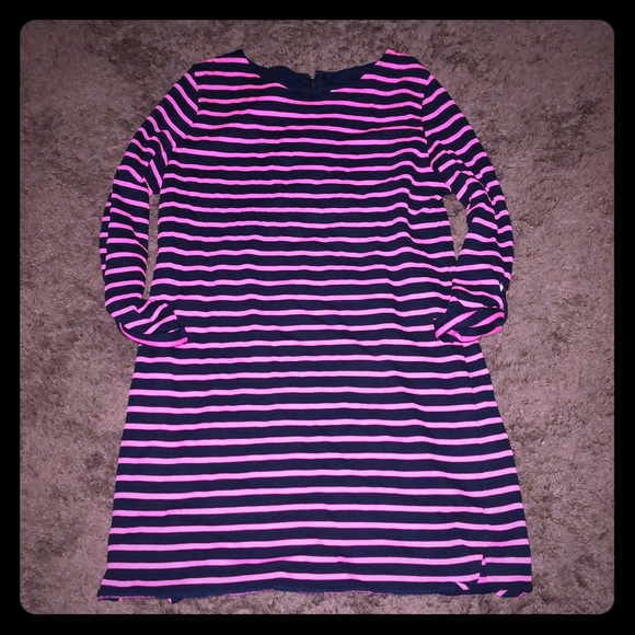 Merona Dresses & Skirts - Merona pink and blue stripes dress